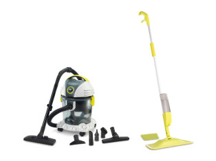 Pachet Victor Vac + Spray Mop Plus